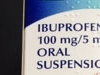 Aspar Ibuprofen Childrens Suspension 100Mg/5Ml 100Ml