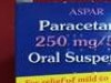 Aspar Paracetamol Chidrens Suspension 250Mg /5Ml 80Ml 6 Years Plus