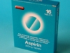 Aspirin 300mg Tablets 16 blister pack