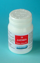 Aspirin 300mg Tablets 16's pot