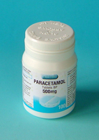 Paracetamol 500mg Tablets 100's pot