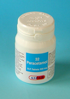 Paracetamol 500mg Tablets 32's pot